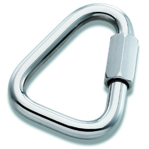 Petzl P18 T Maillon Rapide 10mm Triangle Aluminum Screw Link