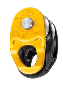 Petzl JAG lightweight double pulley designed for use with Jag Traxion pulley