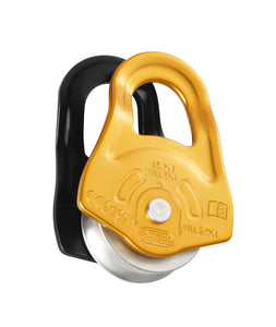 Petzl PARTNER pulley on ball bearings for maximum efficiency -part#P52A