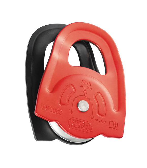 side plates designed for use with a Prusik friction hitch WITH this petzl minder part#p60a