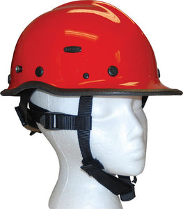 Pacific R5 Rescue Helmet - Compliant to ANSI Z89.1 red
