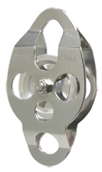 "CMI part#RP111 2 3/8"" aluminum sheave, bushing & Stainless steel sideplates"