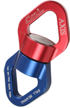The CMI Rescue Swivel -40kN is the strongest aluminum swivel on the market exceeding th 36kN strength requirement of the NFPA-G standards CMI Rescue Swivel -40kN PART#SWIVELNFPA
