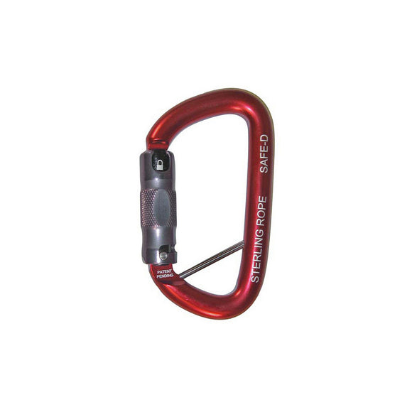 SafeD Autolock/3-stage Carabiner w/ Lanyard Pin