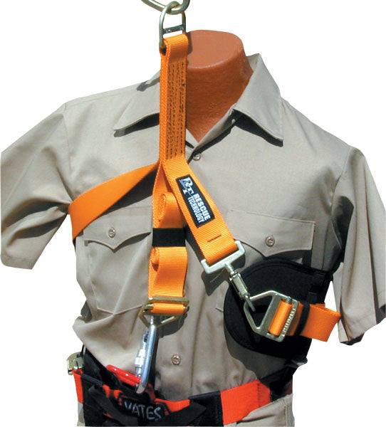 RT rescue tech part#723201 Victim Chest Harness for use in confined space/manhole or helo/helicopter extractions