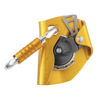 Petzl ASAP Mobile Fall Arrestor w/OK Oval triact aluminum carabiner -PART#B71AAA.  now at a deeply discounted sale closeout price