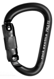 Rock Exotica Pirate Carabiner -Autolocking 3-stage gate BLACK