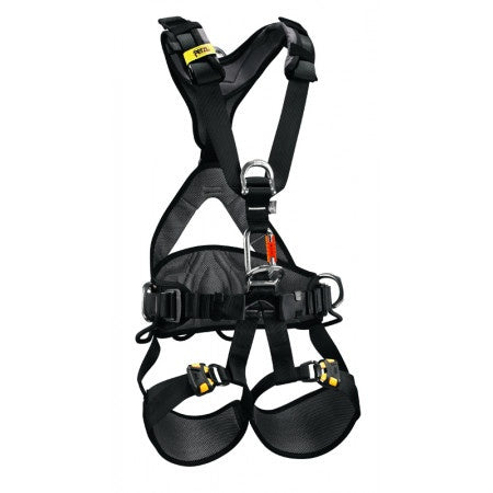 Petzl Avao Bod Fast Harness -Quick release leg buckles part#c71afaouYellow/Black
