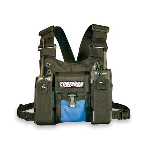 Conterra Double Adjusta-Pro II Radio Chest Harness W/LIGHT part#DCH2