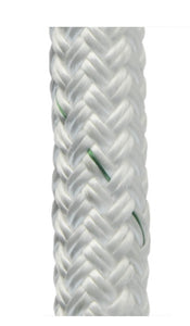 "1/2"" inch - Load Pro™ High Force Cable Pulling Rope by pelican rope for tower Cable pulling Stringing lines Winch lines Lifting lines Transmission lines with factory spliced 6 inch eyes on both ends of spool"