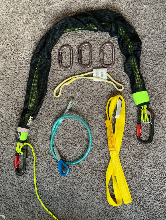 Sterling Raise and Rescue Elite Kit.   the Raise and Rescue Elite makes for the lightest, most compact rescue package available.