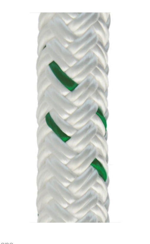 "1/2"" Composite Load Pro™ High Force Composite Cable Pulling Rope with nylon core and polyester sheath"