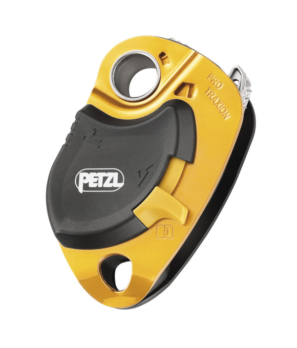 Petzl PRO TRAXION progress capture pulley