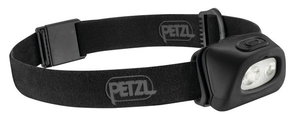 Petzl TACTIKKA®+RGB Compact headlamp w/white or red/green/blue lighting~160 lumens.   IPX4 (weather resistant): a rating suitable for most headlamp use in rain, snow or a humid environment. now at a deeply discounted sale closeout price