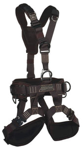 the yates voyager RIGGERS 380R harness is perfect for touring and local stage riggers.  SAR, mountain rescue, USAR ready.  Rope Access SPRAT/IRATA ready now at a deeply discounted sale closeout price