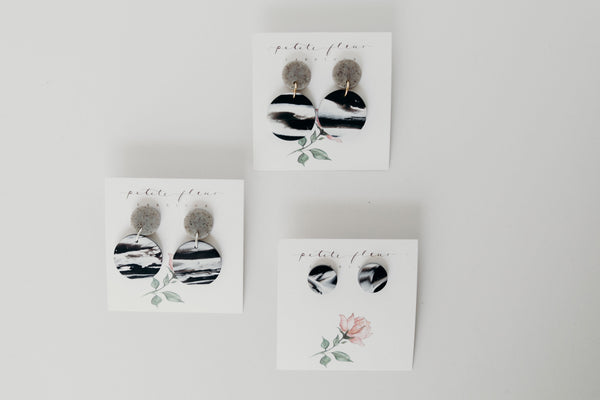 The Pier Stud Earrings