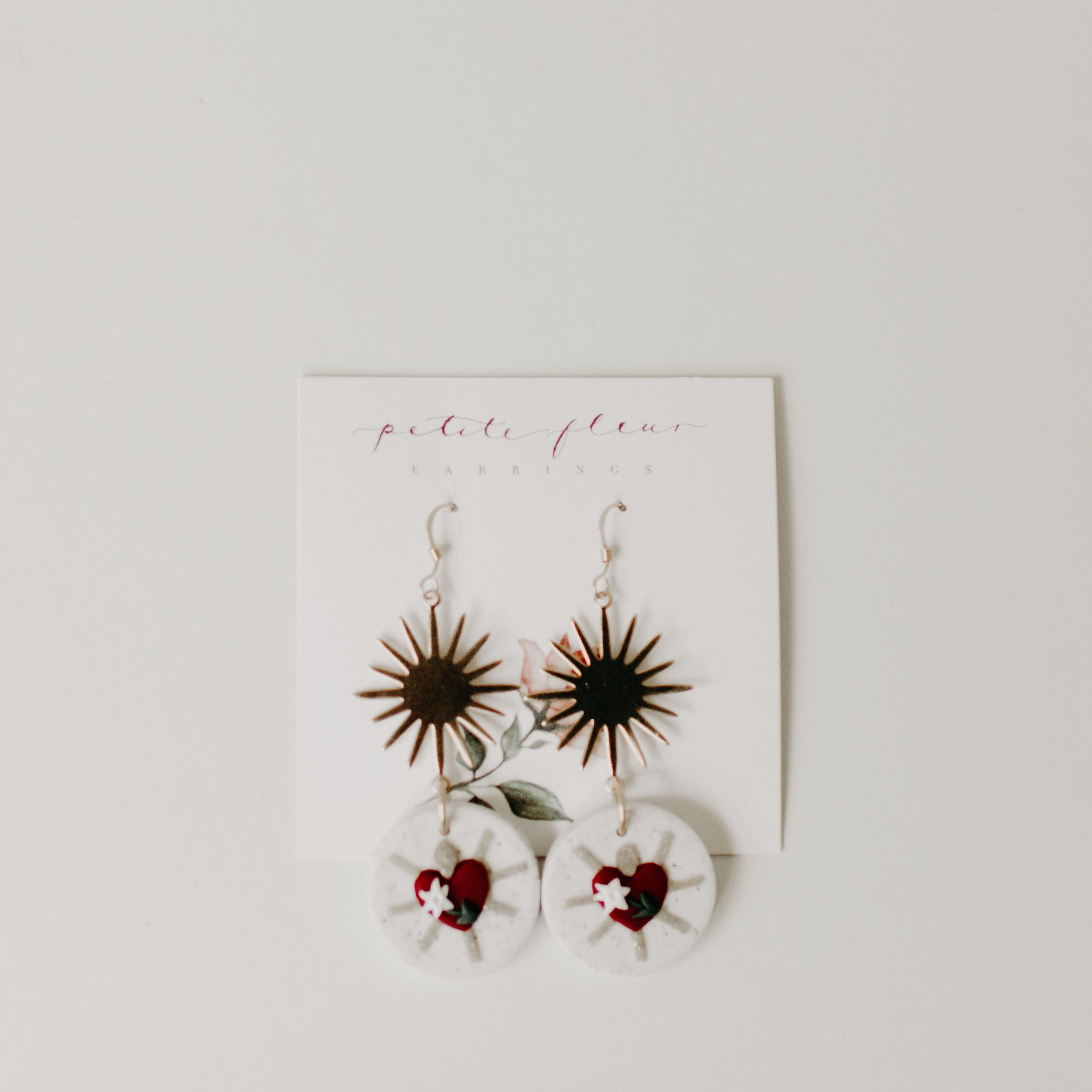 The Chaste Heart Earrings