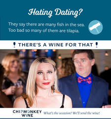 Hating Dating Chipmonkey Wine