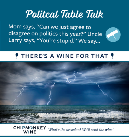 Political Table Talk Chipmonkey Wine