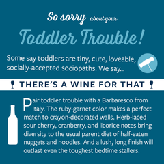 Toddler Trouble Card