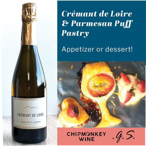 Cremant with Puff Pastry