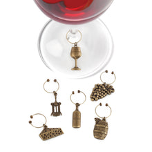 Load image into Gallery viewer, Vineyard Wine Charms