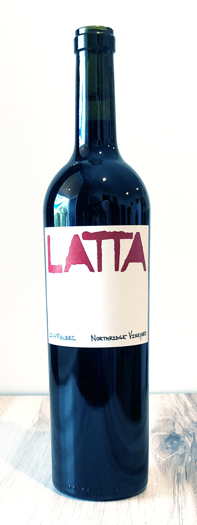 2014 Latta Wines Malbec Northridge Vineyard