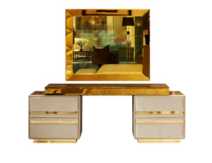 High End 4 Drawer Luxury Dressing Table - Gattopardo