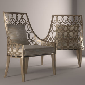 Designer Outdoor Garden Dining Chair Fascinio