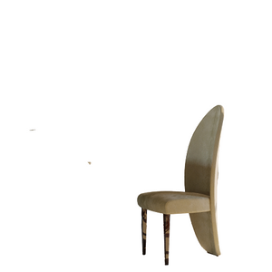 The High End Luxury Velvelt Leaf Chair - Lotus