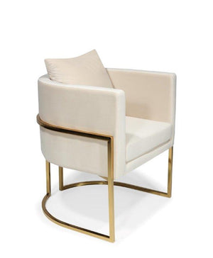 Luxury  Upholstered Soft Velvelt Dining Chair - Horizon