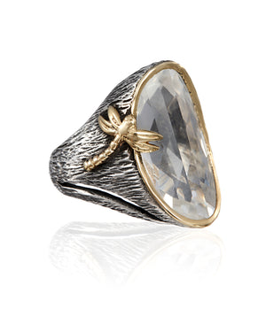 Dragonfly Ring - Lotus