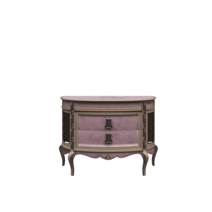 Bedside Table with Drawers Rose - Magical