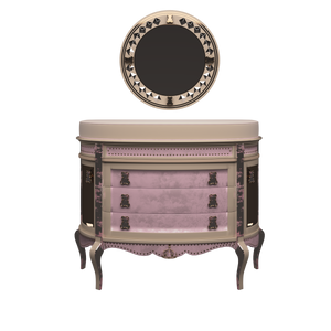 Dresser with Changing Unit Rose - Magical
