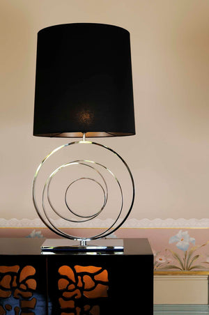 Modern Black Table Lamp - Zurich I