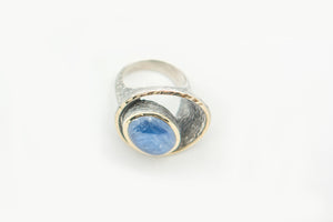 Blue Cyanite Ring