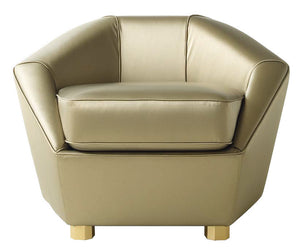 Modern  Leather Armchair - Lotus