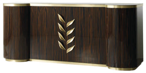 Luxury Leaf  Design Sideboard - Lotus