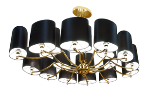 Exclusive Gold Plated Bvlgari Ceiling Lamp - Gattopardo