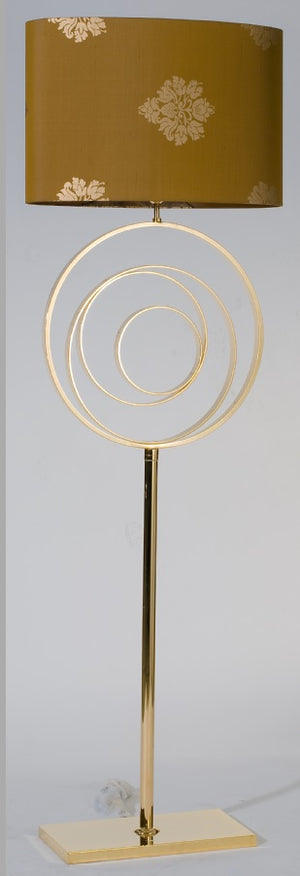 Gold Contemporary Floor Lamp - Zurich