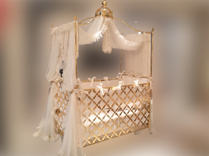 Gold Plated Magical Crib - Magical