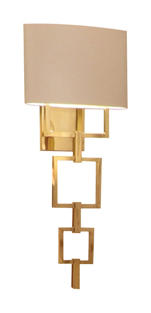 Gold Contemporary Wall Lamp - Signature