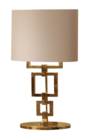 Gold Contemporary Table Lamp - Signature