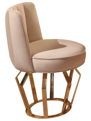 Luxury  Upholstered Soft Velvelt Dining Chair - Signature