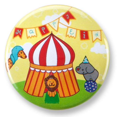 Big Top Circus Eid Buttons