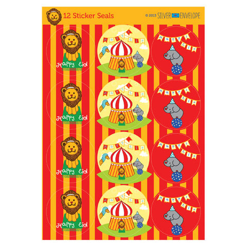 Big Top Circus Eid Stickers