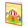Big Top Circus Eid Greeting Cards