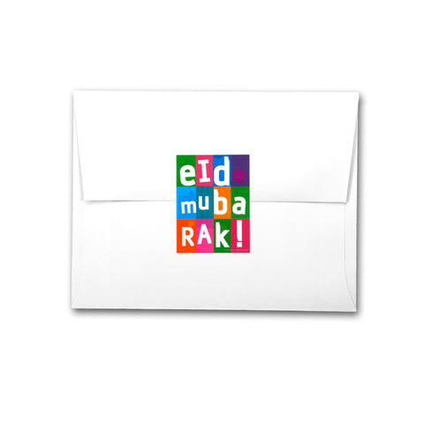 Fun Squares Eid Stickers