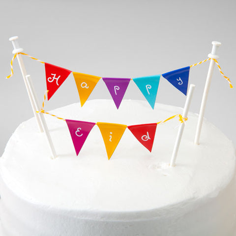 Happy Eid Mini-Bunting Flag Kit