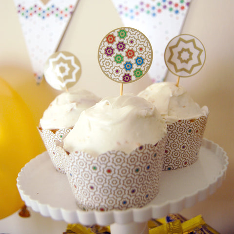 Marrakech Cupcake Kit